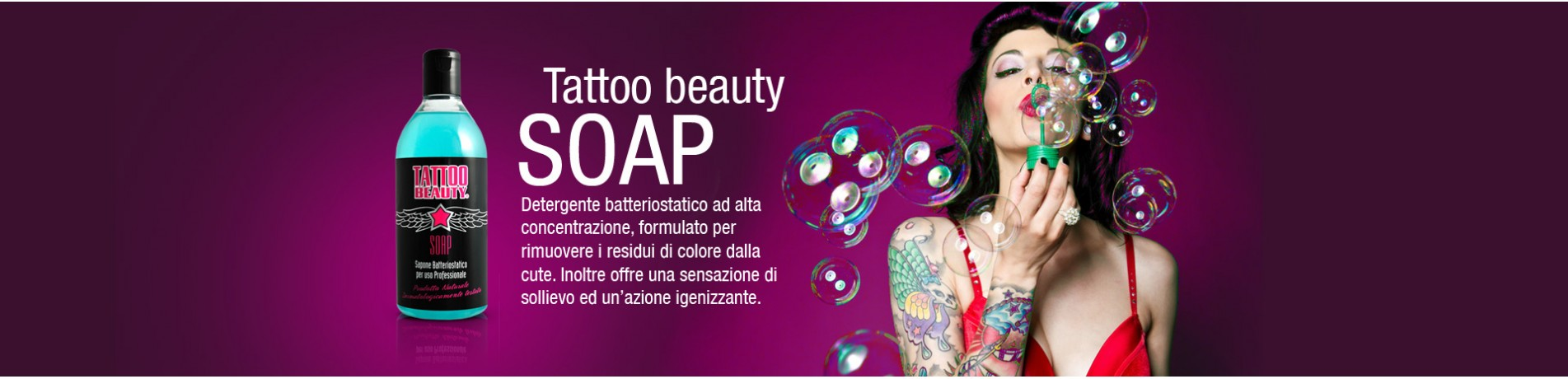 tattoo beauty soap